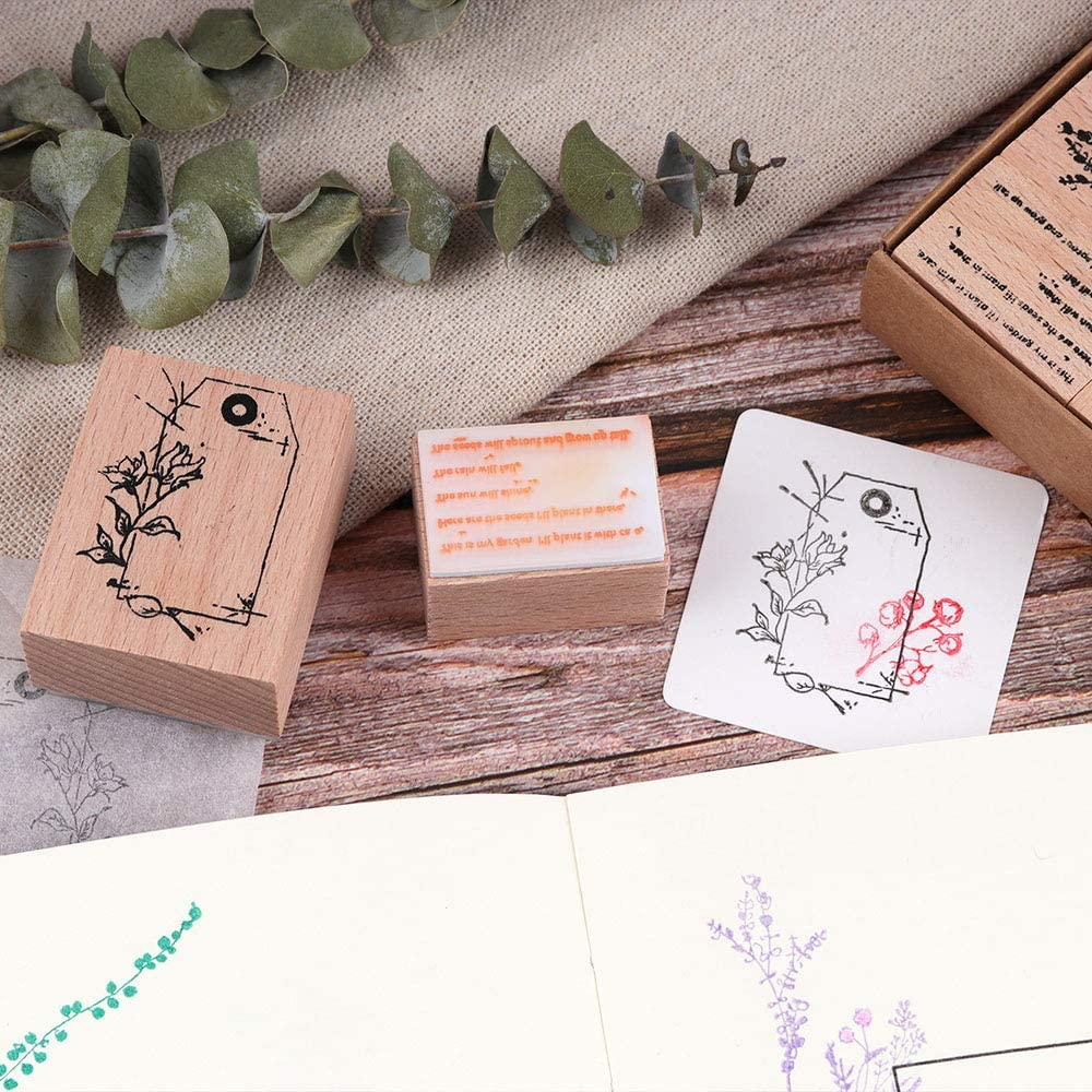 Rubber Stamp Oh My Lady Gaga-EM62881 Diary Stamp Wooden Stamp