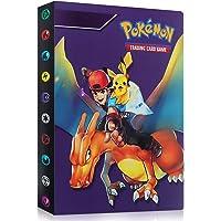 GUBOOM Pokémonkaarten, map voor Pokémon, Pokémonkaarten, album, Pokémon-kaarten, Pokémon-album, map, 30 pagina's, 240…
