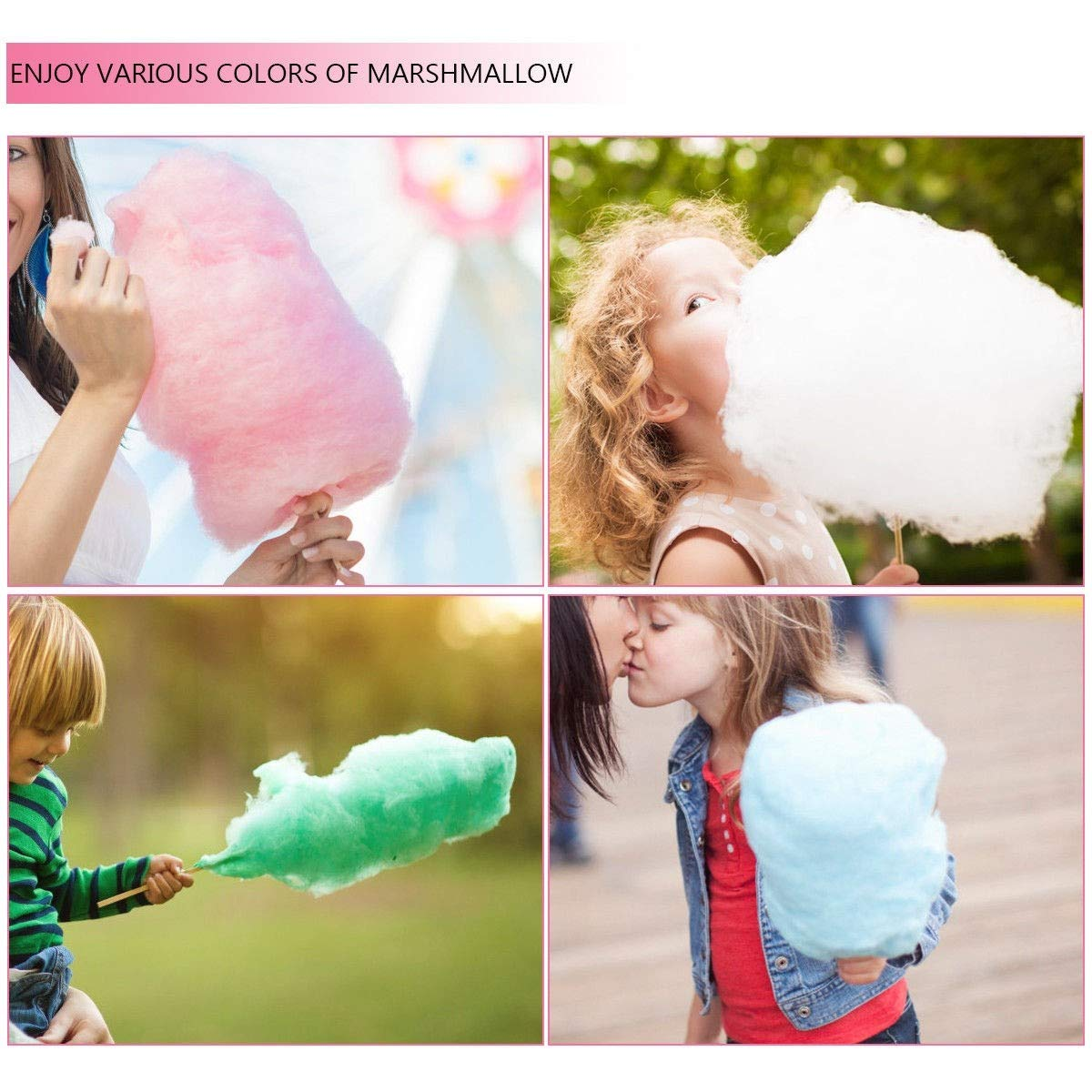 Cotton Candy Machine, Pink Electric Cotton Candy Machine by MD Group (Image #4)