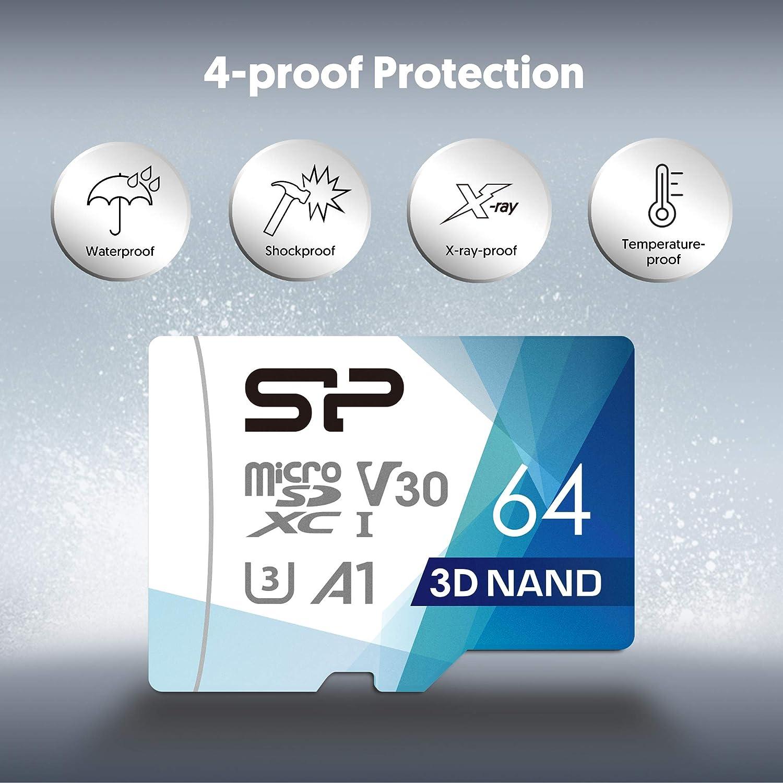 Silicon Power 64gb Superior Pro Micro Sdxc Uhs I V30 Computer Zubehör