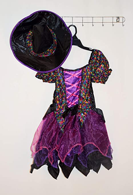 XINFUKL Disfraz De Bruja Falda De Halloween Lindo Sombrero De ...