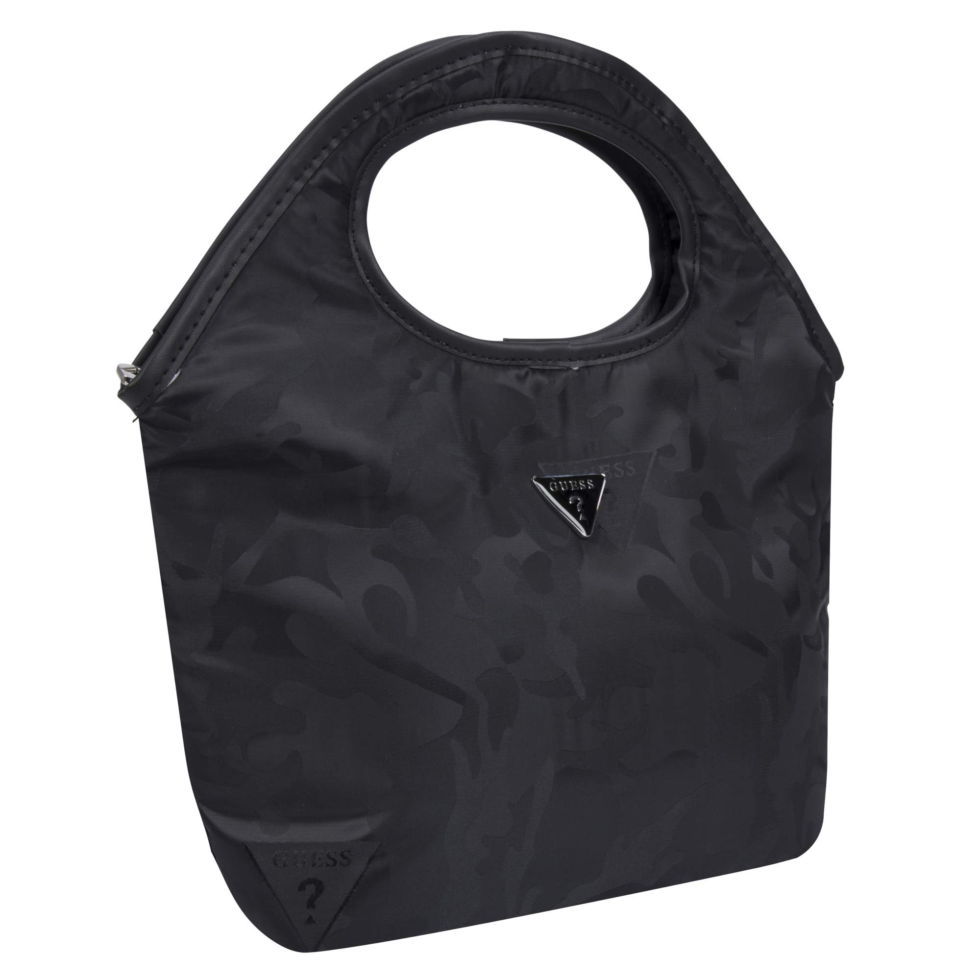Charcoal One Size Guess Junction Coated PVC Insulated Lunch