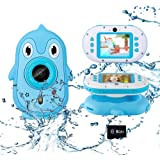 Luoges Kids Waterproof Digital Camera Toys for 4-12 Year Old Boys Girls Christmas Birthday Gifts,Underwater Camera for Toddle