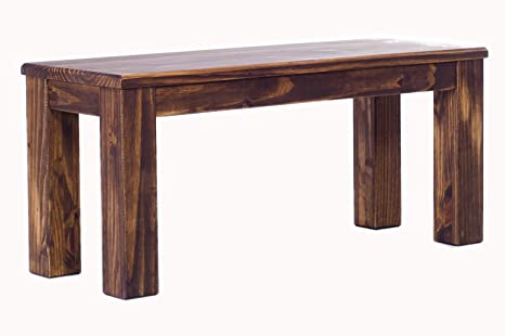 Fantastic Brazilfurniture Bench Rio Solid Pine 39 4 Inch Oak Antique Wood Oiled Optional Matching Tables And Chairs Coffee Modern Wooden Office Conference Squirreltailoven Fun Painted Chair Ideas Images Squirreltailovenorg