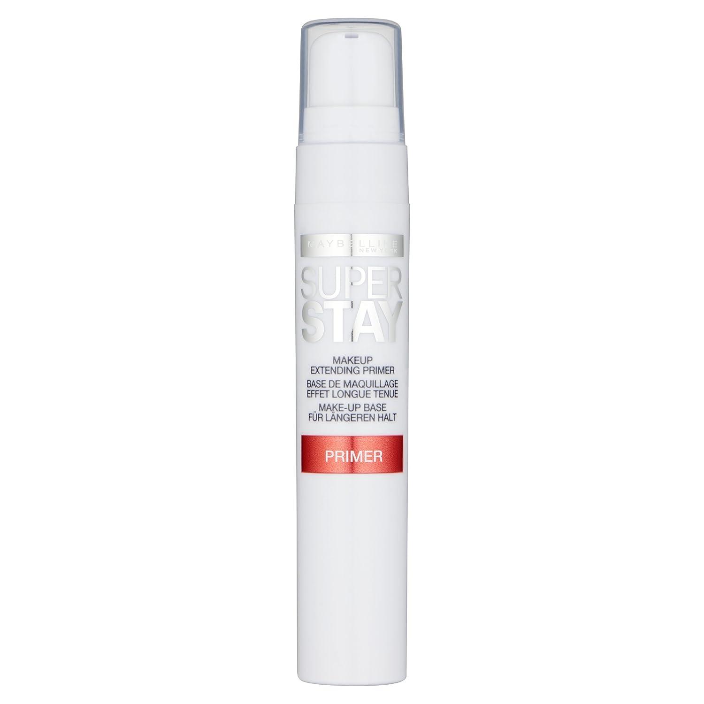 Maybelline Superstay 24H Primer, Make-up-Grundierung, für ein langanhaltendes Make-up und einen ebenmäßigen Teint, mit samtig weichem Finish, transparent, 20 ml Maybelline New York B2824300