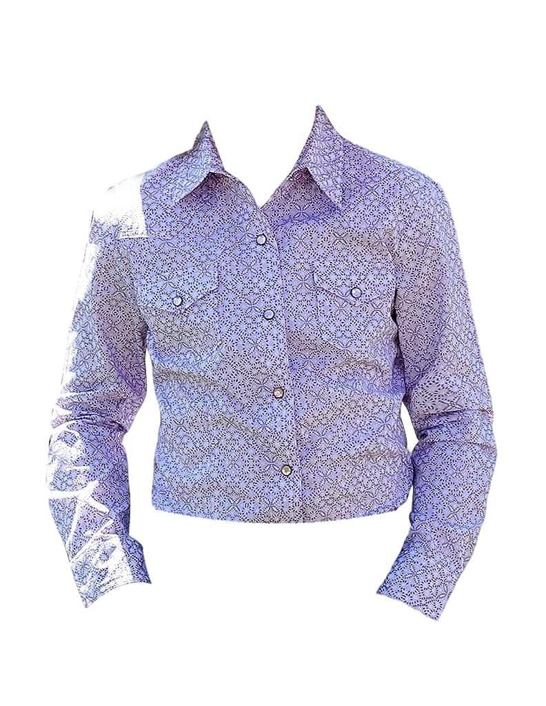 87a1ded6 Amazon.com: Cruel Girl Western Shirt Girls Long Sleeve Snap S Pink ...
