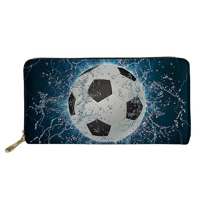 Amazon.com: coloranimal fútbol 3d impresión largo ...