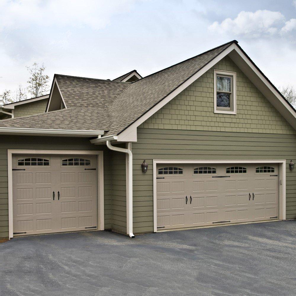 Garage Door Molding Trim Amazing Deluxe Home Design
