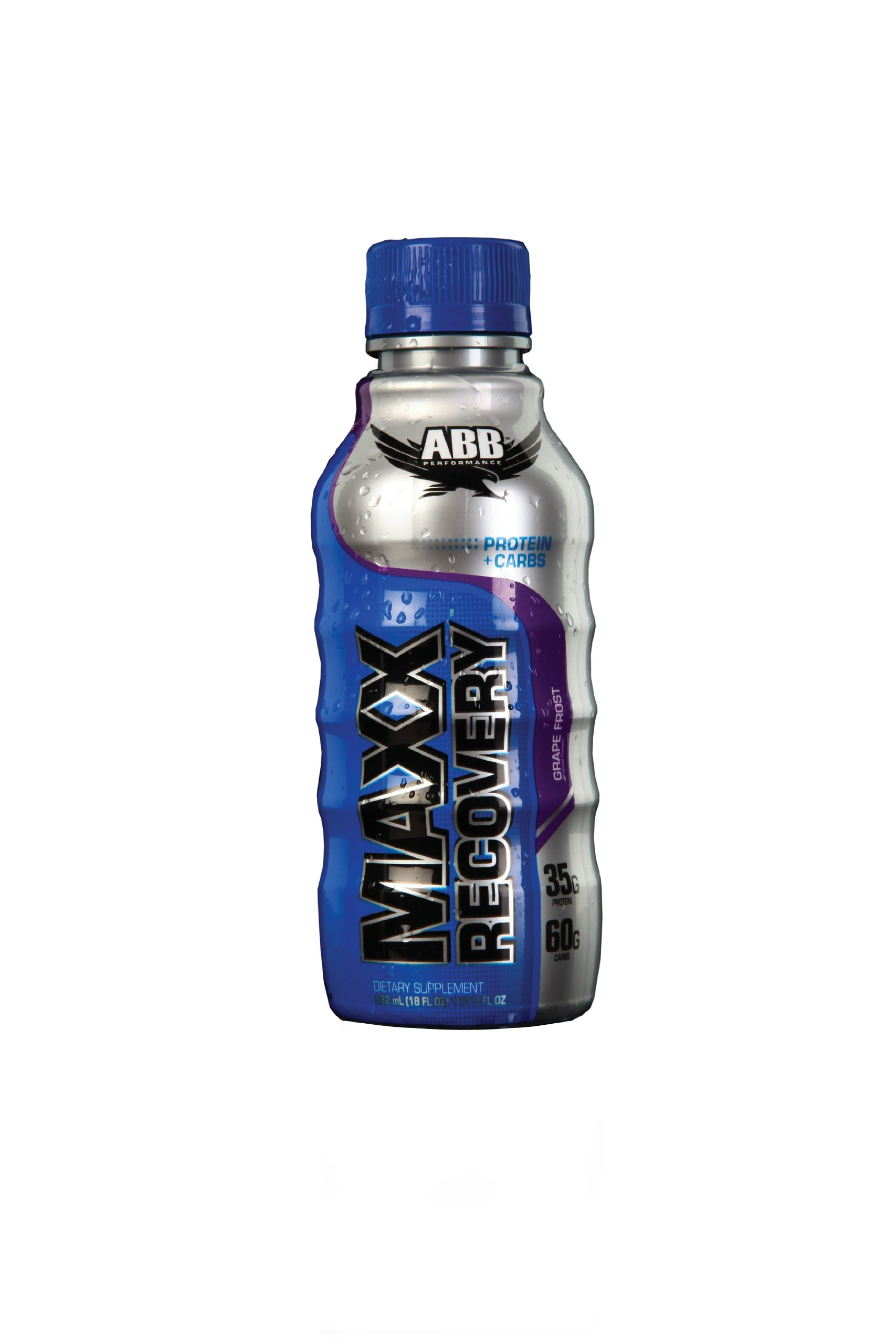 American Bodybuilding Maxx Recovery Rtds, Grape Frost, 18-Ounce (Pack of 24)