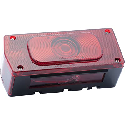Optronics ST37RS ST-37RS Tail Light with License Light, Red: Automotive