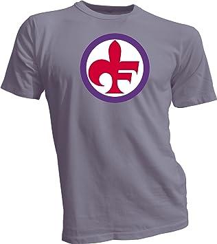 ACF Fiorentina fútbol fútbol fútbol Italia camiseta gris 4 x l: Amazon.es: Deportes y aire libre