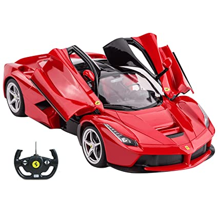 Rastar Ferrari LaFerrari R/C Car 1/14 Scale Red | Radio Remote Control