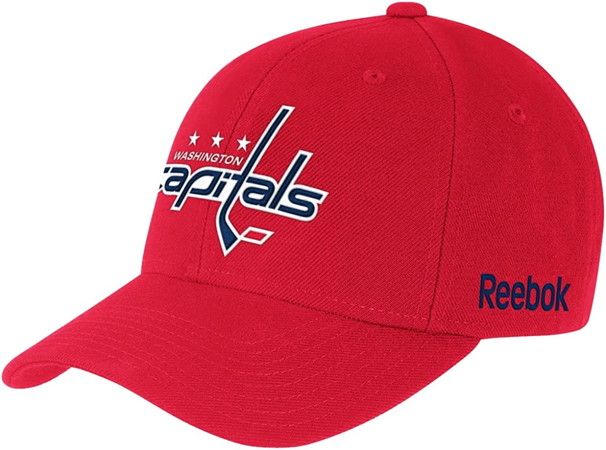 One Size Navy NHL Mens Washington Capitals 2018 Stanley Cup Champions OTS Challenger Adjustable Hat