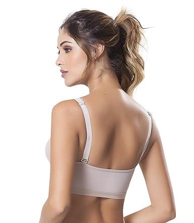 84f4059356a84 Fajitex Women s Post Surgical Surgery Bra posture corrector Brasier Post  Operatorio 022130 - Beige -  Amazon.co.uk  Clothing