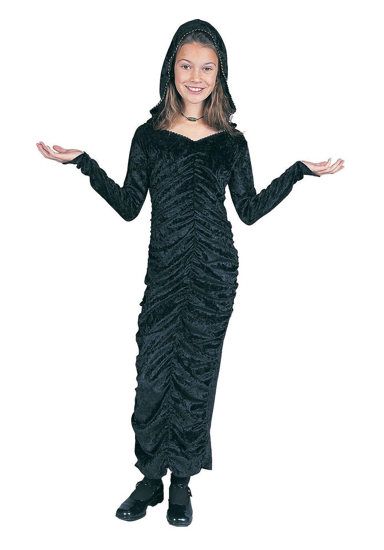 Reducción de precio Disfraces RG 91296-S del vestido g-tico Negro Con Capucha - Tama-o Peque-o Ni-o-