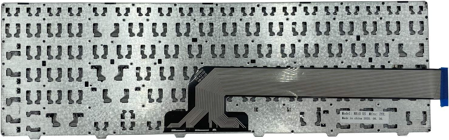 New US English Laptop Keyboard for Dell Inspiron 15 3000 5000 3541 3542 3543 5542 3550 5545 5547 3551 3552 3559 3565 3567 3551 3558 5566 5748 No Backlit