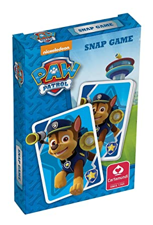paw patrol snap card game