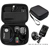 Professional Body camera and action camera case for Veho VCC003, VCC005 MUVI HD10 and HDPRO, PNZEO F5, Transcend TS32GDPB10A,