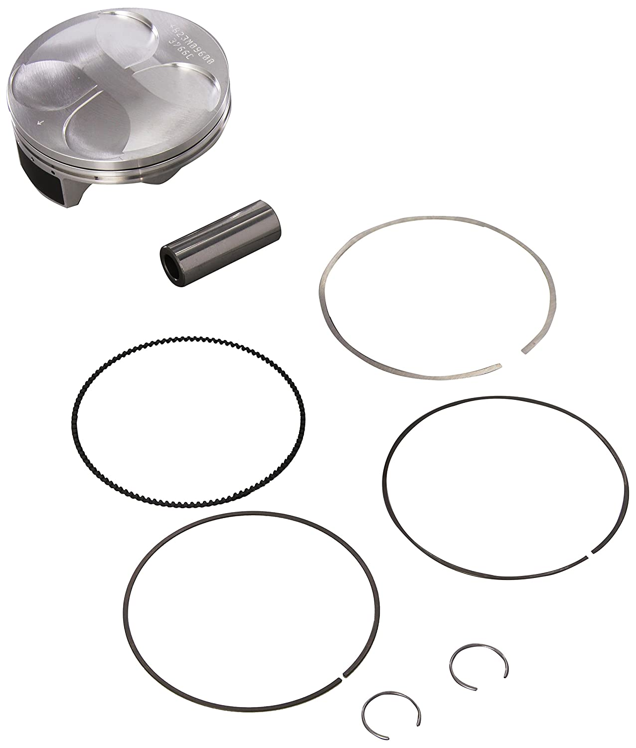 Wiseco 4823M09600 96.00mm 13.5:1 Compression 449cc Motorcycle Piston Kit