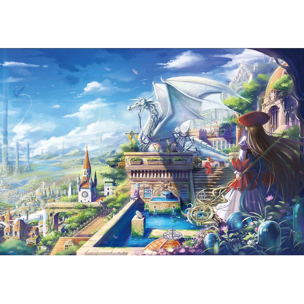 70% de descuento 1500pc Puzzle House- Rompecabezas de Madera, Magical City of Dragon, Dragon, Dragon, Juego de Rompecabezas de 500 1000 1500 Piezas para Adultos y niños -0403 (Tamaño   1500pc)  Venta en línea precio bajo descuento