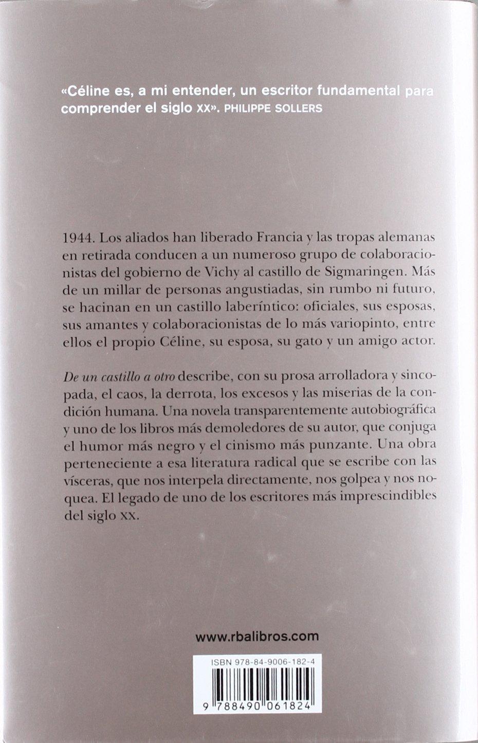 De un castillo a otro: Louis - Ferdinand Celine: 9788490061824: Amazon.com: Books
