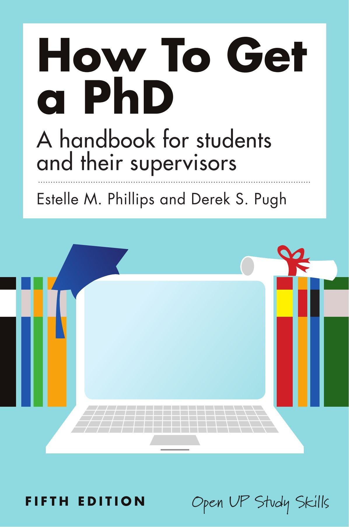 amazon how to get a phd a handbook for students and their