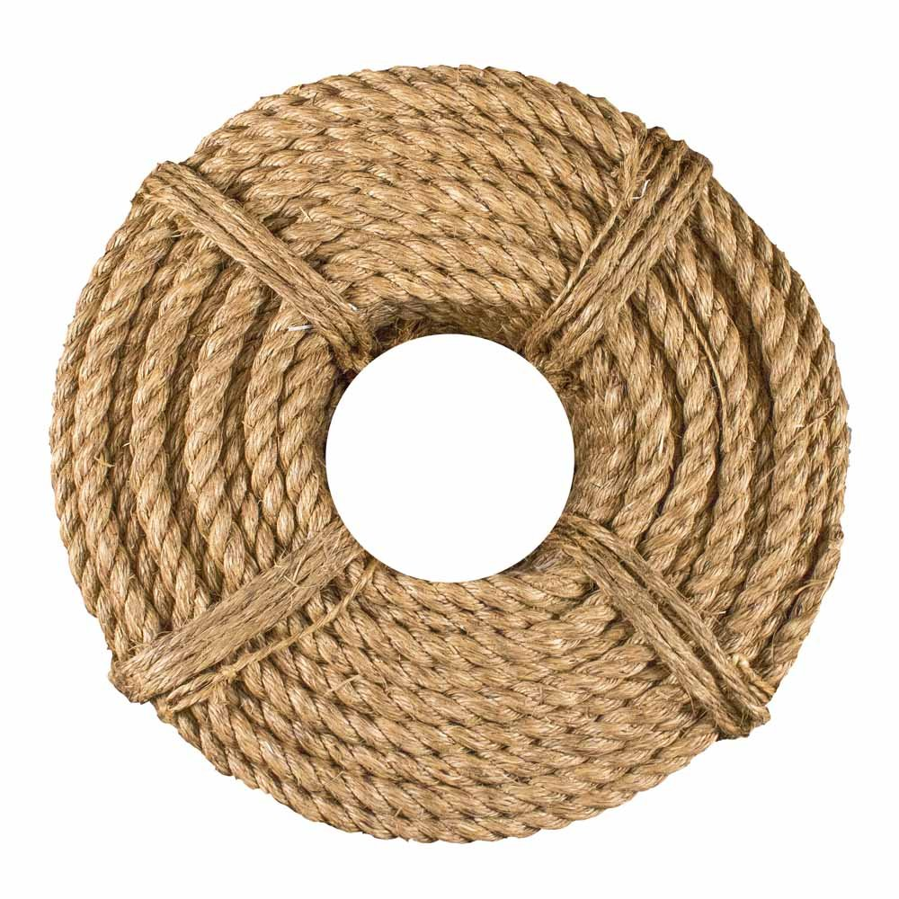 a32a1f5115 West Coast Paracord Twisted Manila Hemp Rope in 1 4 inch