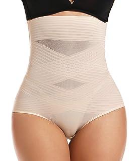 COMFREE Culotte Gainante Femme Ventre Plat Taille Haute Invisible Seamless pour Postpartum