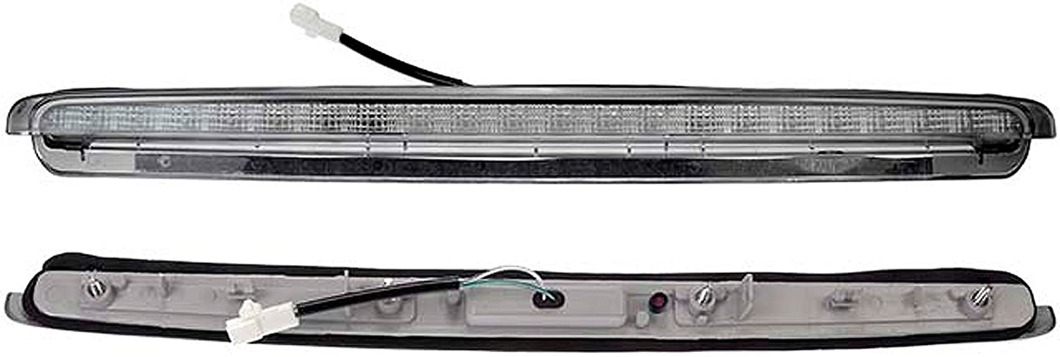 APDTY 034512 Third 3rd High Center Mount Brake Lamp Light Fits 2005-2010 Scion tC w/Upgraded LED Lighting Technology (Replaces 8157021100, 81570-21100)