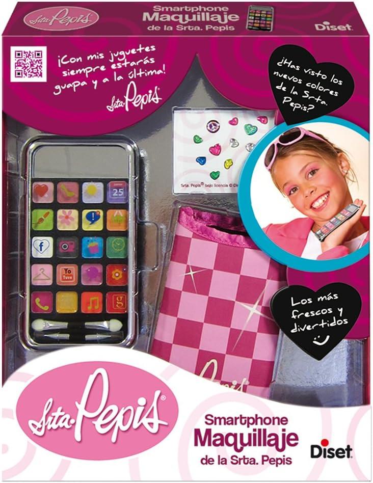 Amazon.es: Diset 46636 - Smartphone de maquillaje Srta. Pepis
