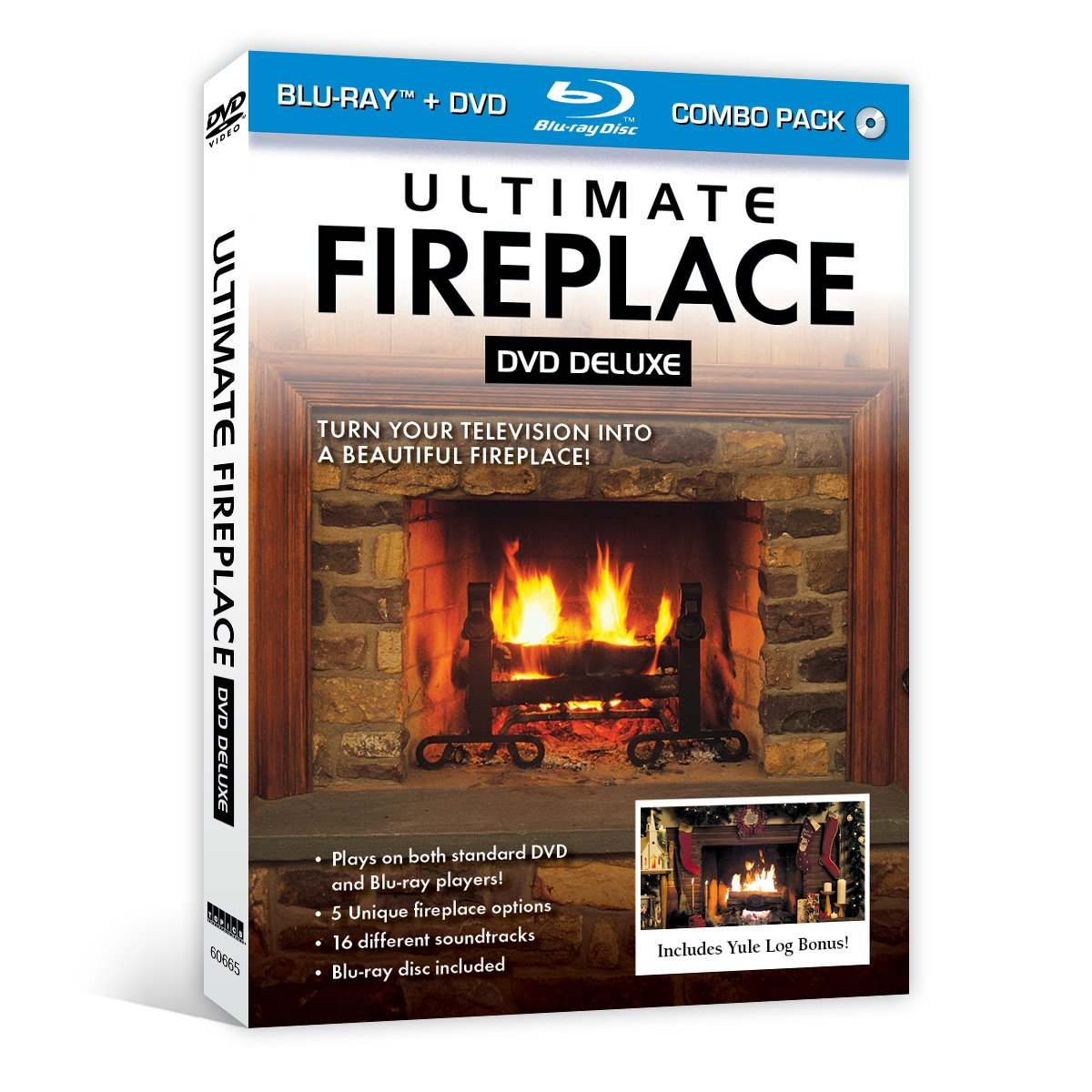 Amazon.com: Ultimate Fireplace DVD Deluxe (+ Bonus Blu-ray disc): -: Movies & TV