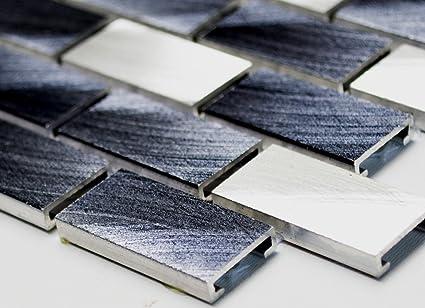 Mosaico di alluminio mosaico piastrelle brick in alluminio mix di