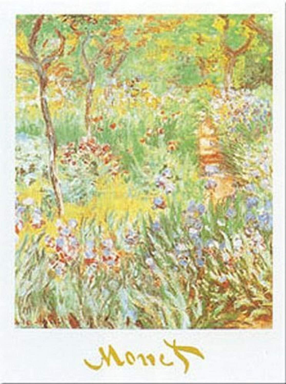 Buyartforless Artist's Garden at Giverny by Claude Monet 20x16 Art Print Poster