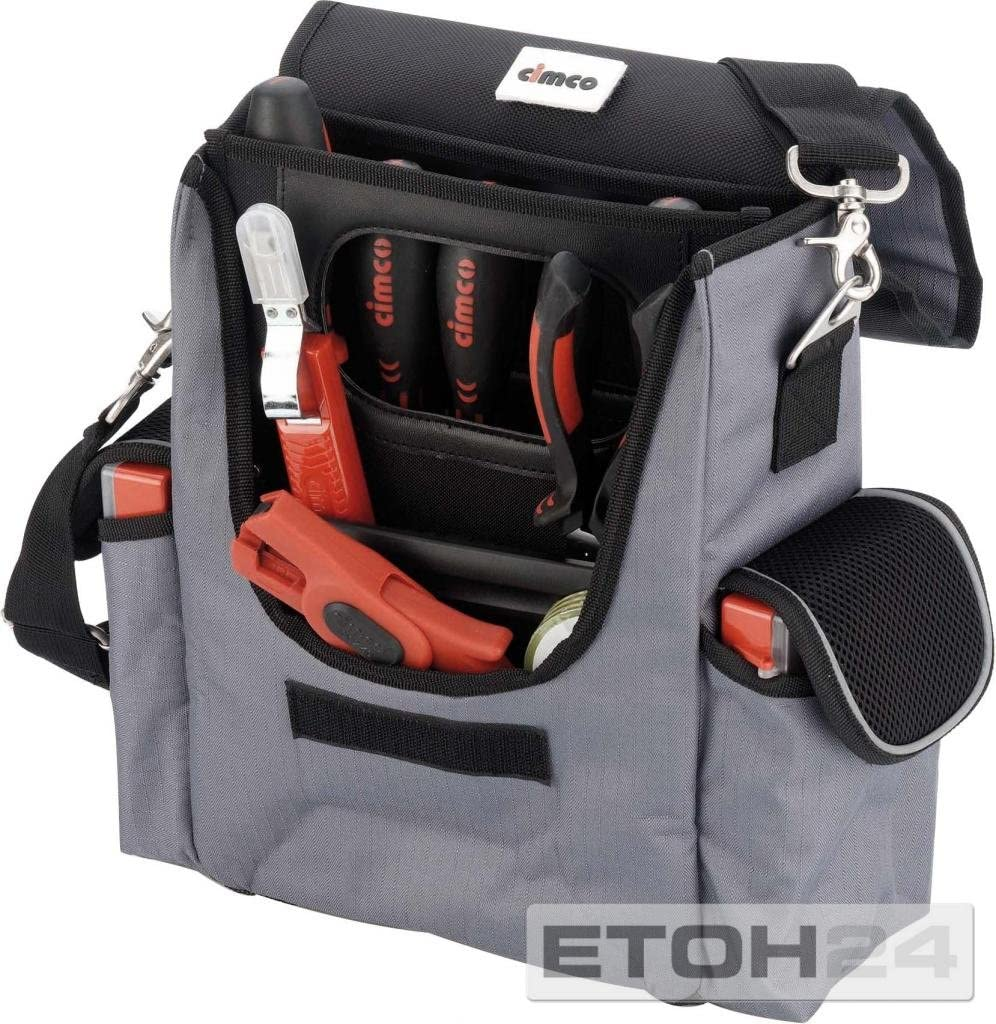 Cimco 175134 Bolsa herramientas para profesional electrico