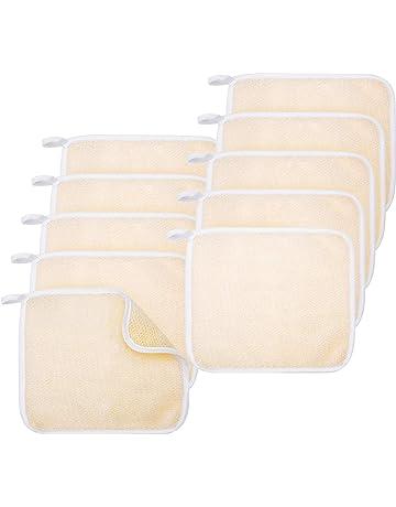 ed7c604988d Nettoyant Exfoliant pour le Visage Serviette de Bain Tissage Doux Tissu  Gommage Exfoliant Drap de Bain