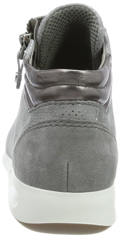 ... ARA Damen Rom Rom Damen Hohe Sneaker Grau (Rauch, Street) 65fd28 ... 02eca1f785