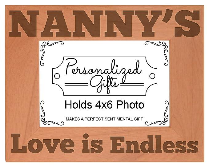 Amazon.com: Día de la Madre Regalo Nanny s Love Endless ...