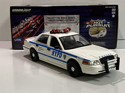 Greenlight Hot Pursuit 1:64 New York City Police Department 2020 Ford Police...