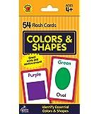 Carson Dellosa | Colors and Shapes Flash Cards | Preschool, 54ct
