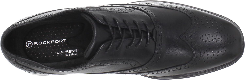 Rockport Mens Almartin Wingtip Tip Bal Oxford Black-12 M