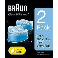 Braun Clean & Renew Refill Cartridges CCR - 2 pack