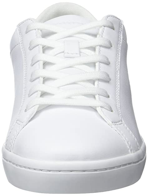 Amazon.com | Lacoste Womens White Straightset BL1 SPW Trainers | Fashion Sneakers