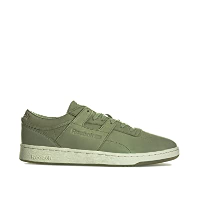 5a9e399c566272 Reebok Mens Classics Mens Club Workout Trainers in Olive - UK 11.5 ...