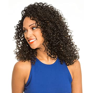 c882f234df6 Amazon.com   New Born Free Synthetic Hair Wig Slim Line Lace Part Wig SLW18  (DYX INDIGO BLUE)   Beauty