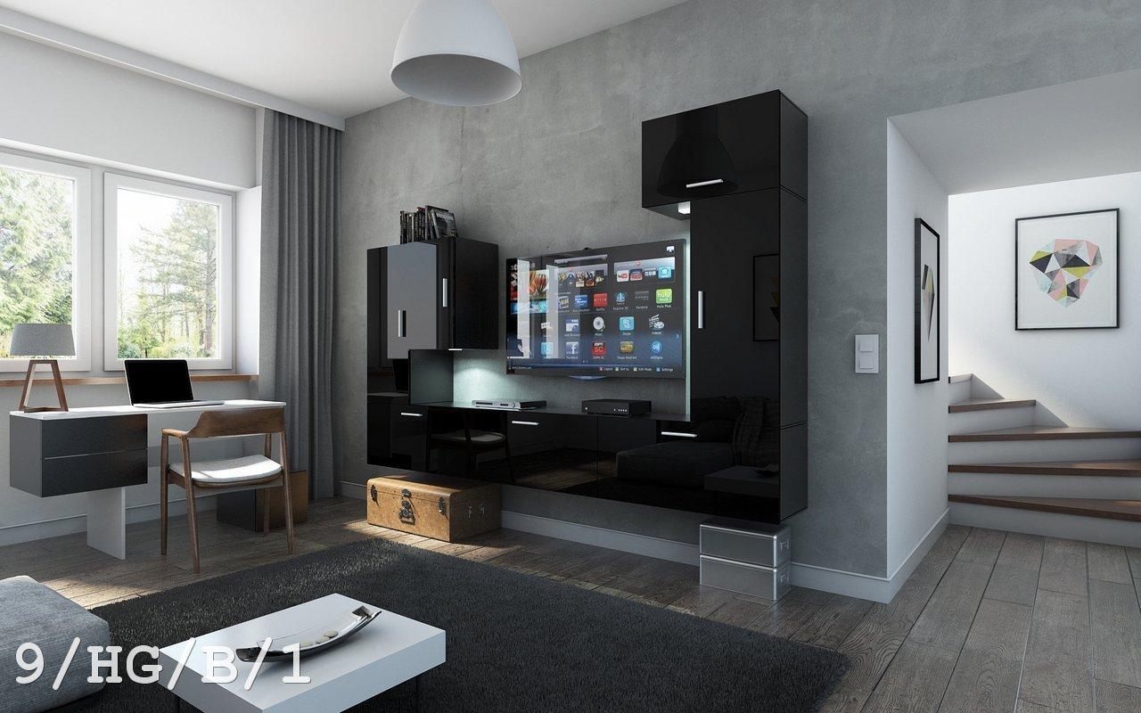 Future 9 Sitzgruppe Modernes Wohnzimmer, Entertainment-Kamera ...