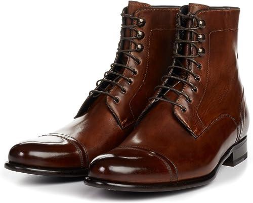 Paul Evans Men's Jackman Cap-Toe Boots