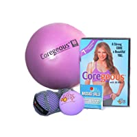Coregeous Kit with DVD, Coregeous Ball, and Original Yoga Tune Up Balls