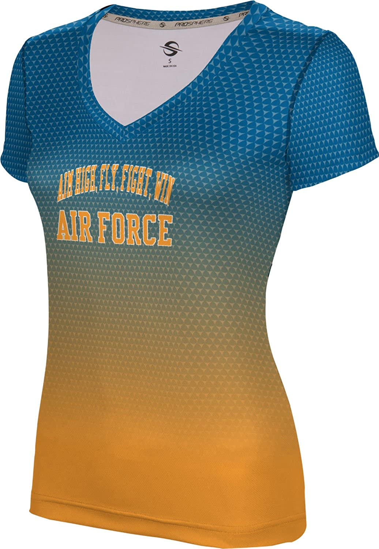 ProSphere Women's AIM HIGH, FLY, FIGHT, WIN Military Zoom SL V-Neck Training Tee
