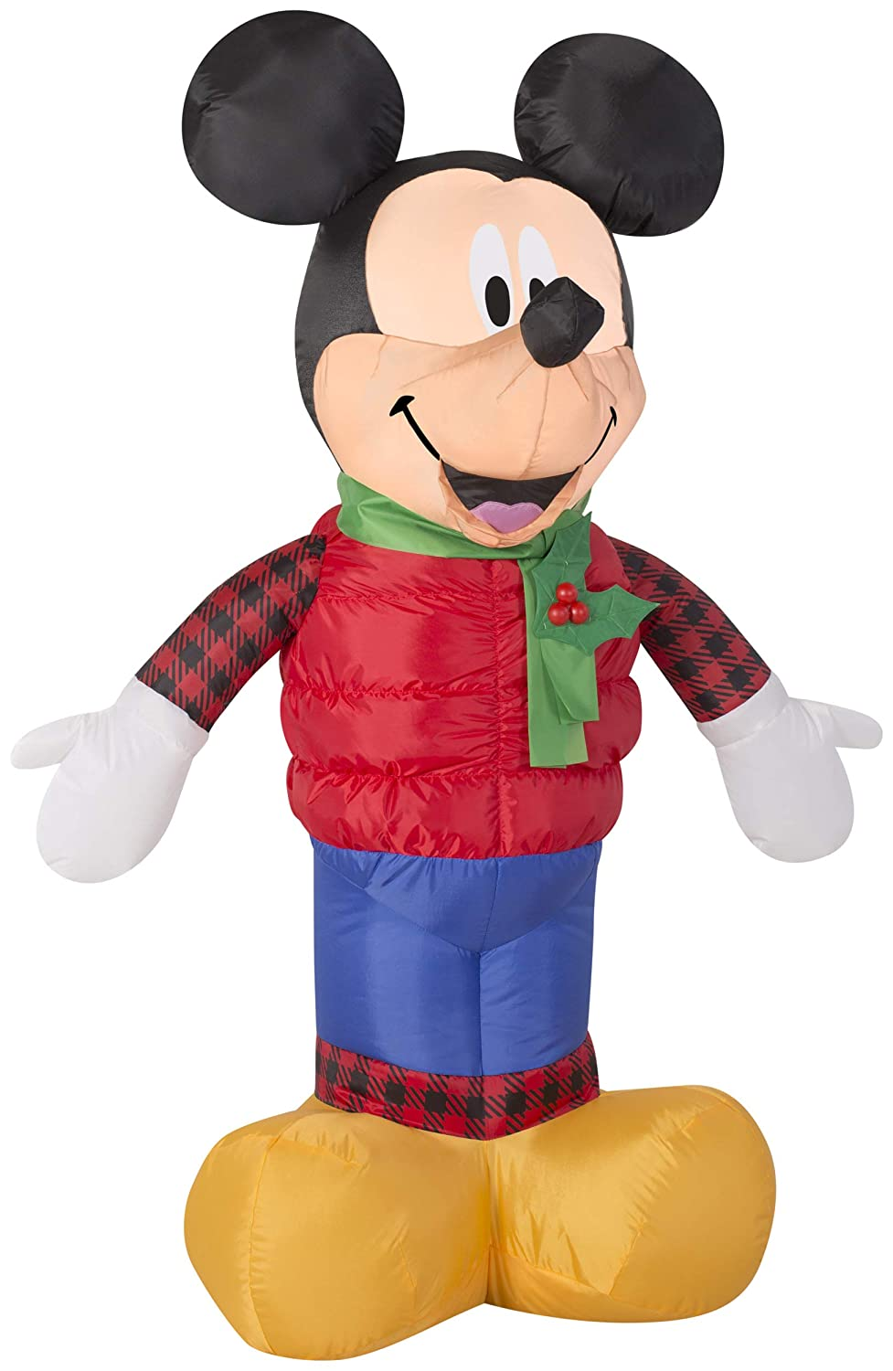 Gemmy 12445 Mickey Outfit Christmas Inflatable 3.5FT Tall