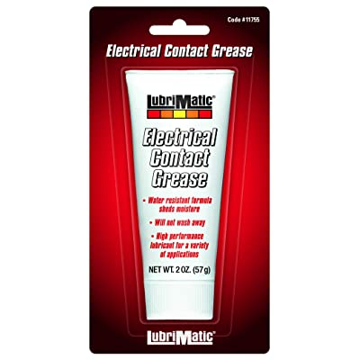 LubriMatic 11755 Dielectric/Electrical Contact Grease, 2 oz. Tube: Automotive